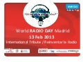 World RADIO DAY Madrid 2013 Synthesis