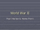World war ii pearl harbor