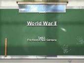 World war II - Part 1