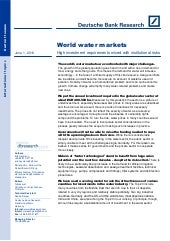 World water markets