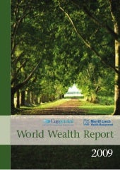 World Wealth Report 2009
