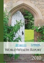 World Wealth Report 2010