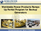 Worldwide Power Products Ramps Up R...