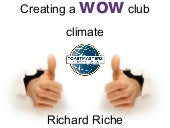 Wow Toastmasters club climate