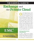 White Paper: The Essential Guide to Exchange and the Private Cloud