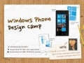 Windows Phone Design Camp