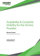 Whitepaper Availability complete visibility service provider