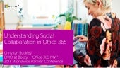 Understanding Social Collaboration in Office 365