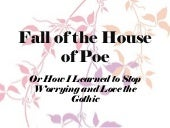 Wp fall of the house of poe