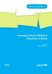Investing in Early Childhood Educat...