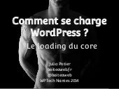 Comment se charge WordPress ? Le loading du core.