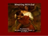 Wrestling with god   genesis 32