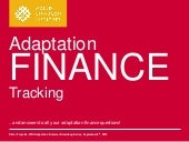 Adaptation Finance Tracking