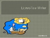 Libre Office Writer Lesson 2