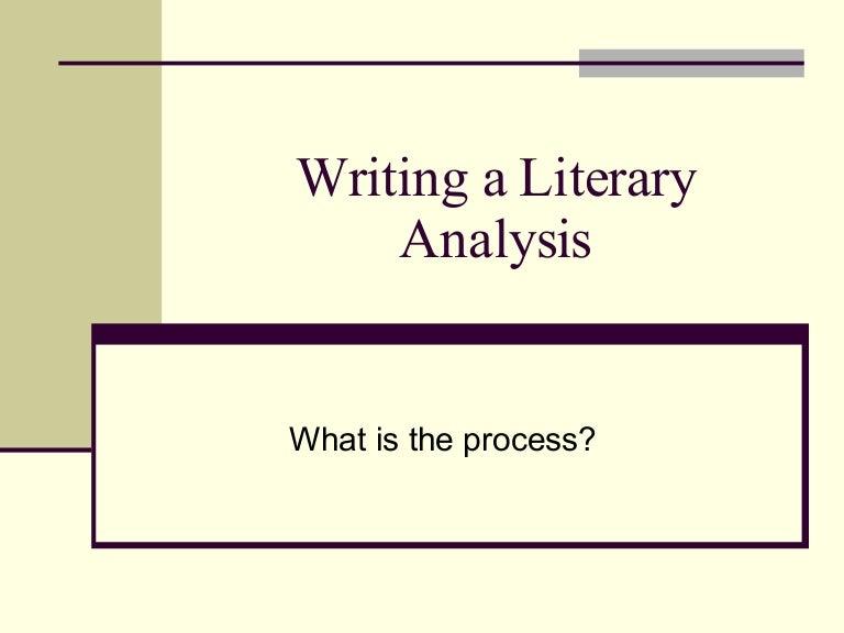 sample literary analysis essay