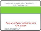 http://myessayhelp.co.uk - Research...