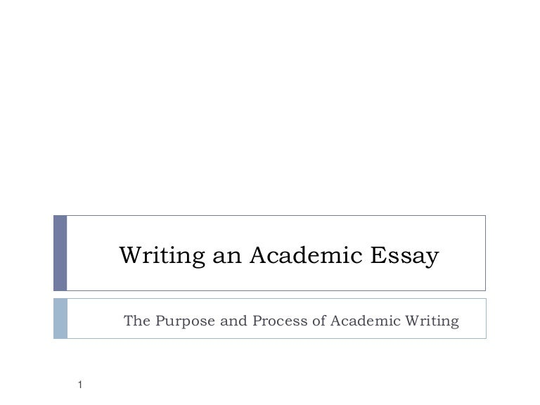 Huh, synthesis essay?
