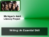 Writing an essential skill ppt
