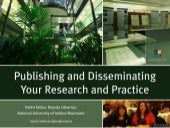 Publishing and Disseminating your R...