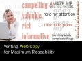 Writing for maximum readability on the web