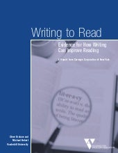 Writing to read report