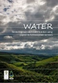 WATER: Restoring river catchment function using payments for ecosystem services