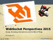 WebSocket Perspectives 2015 - Clouds, Streams, Microservices and WoT