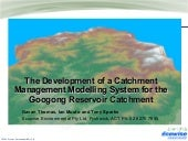 The Development of a Catchment Mana...