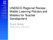 UNESCO Regional Review: Mobile Lear...