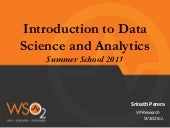 Introduction to Data Science and Analytics