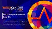 WSO2Con USA 2015: WSO2 Integration Platform Deep Dive