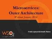 Deep-dive into Microservice Outer Architecture