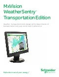 MxVision WeatherSentry ® Transportation Edition