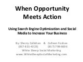 When Opportunity Meets Action by Wh...