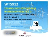 Wt5912 unit0 week1