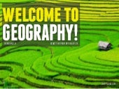 Welcome To Geography 2.0