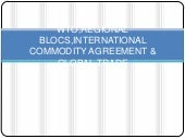 Wto,Regional blocs,International co...