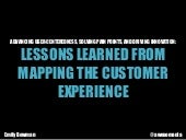 Advancing User-Centeredness, Solving Pain Points, and Driving Innovation: Lessons Learned from Mapping the Customer Experience