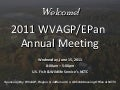 WVAGP Welcome Day 2 (epan 2011)