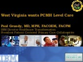 Patient Centered Medical home talk ...
