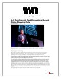 L.A. Tech Summit: Retail Innovations Beyond Online Shopping Carts