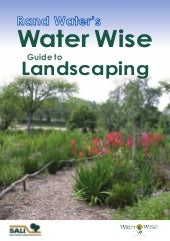 Water Wise Guide to Landscaping - S...