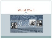 WWI Notes PowerPoint