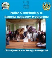 Italian Contribution to National So...