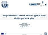 WWW2013 Tutorial: Linked Data & Edu...