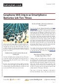 Www.batteryfast.co.uk graphene-will-improve-smartphone-batteries-life-ten-times