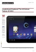 www.batteryfast.co.uk-Leaderboard Updated:  The 10 Hottest Tablets Of 2011