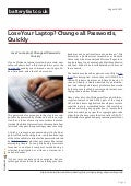 www.batteryfast.co.uk-Lose Your Laptop? Change all Passwords, Quickly