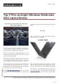 Www.batteryfast.co.uk top-5-thin-and-light-windows-notebooks-2011-laptop-review