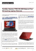 Www.batteryfast.co.uk toshiba-qosmio-f755-3d-290-glasses-free-3d-gaming-laptop-reviews